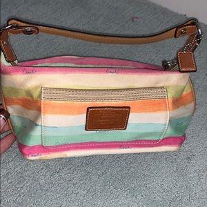 Multi-color Coach bag